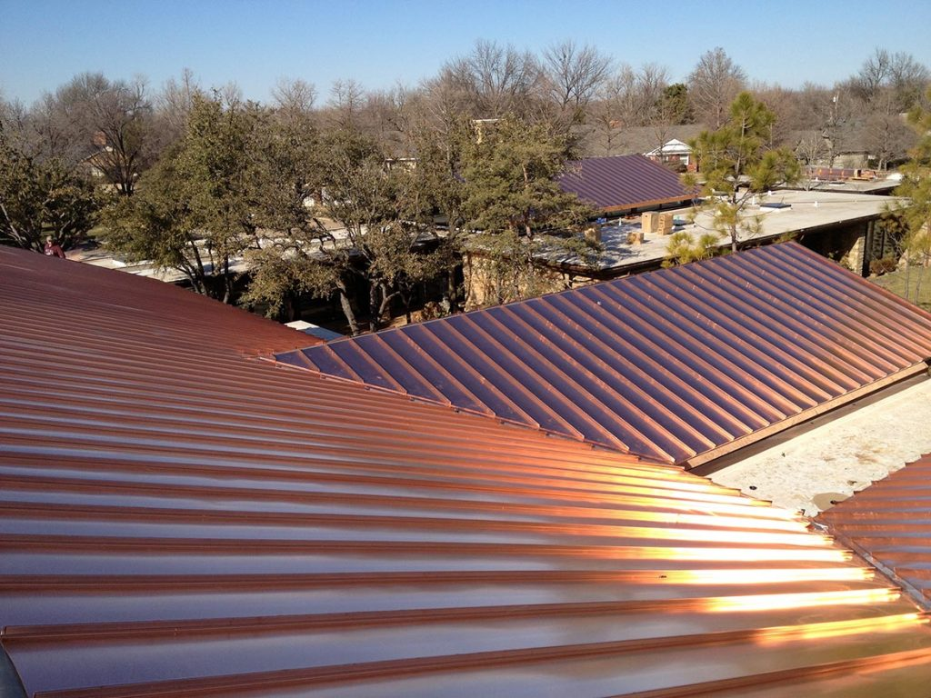 Standing Seam Copper Roofscapes