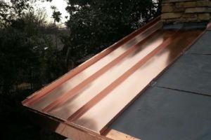 Standing Seam Copper Install