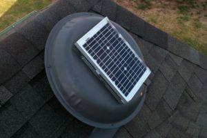 Solar Power Vent